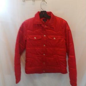 Tommy jeans Women's Jacket Sz S pretty red